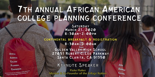 The 7th Annual African American College Planning Conference