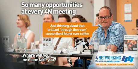 4N Business Networking Glasgow Breakfast 27th February 2020 tickets