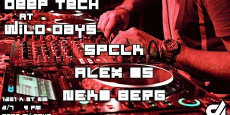 Deep Tech at Wild Days: Alex Os, Neko Berg, SPCLK tickets