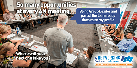 4N Business Networking Glasgow Breakfast 12th March 2020 tickets