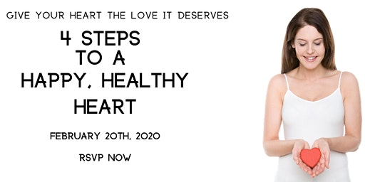 4 Steps to a Happy, Healthy Heart