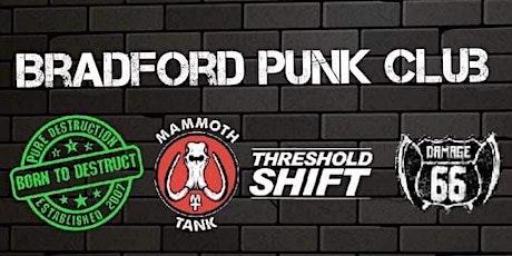 Bradford Punk Club at Tapestry Arts tickets