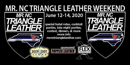 The Mr NC Triangle Leather Contest Weekend