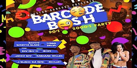 BarCode Bash tickets