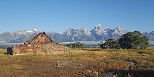 Photogrammetry Workshop 2020: Grand Teton National Park