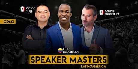 Speaker Masters entradas