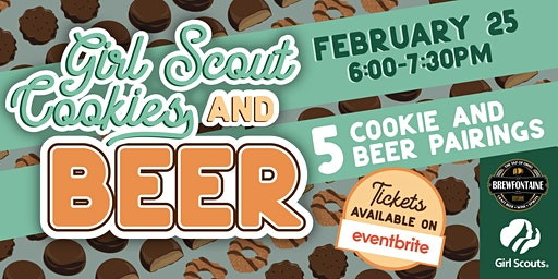 2nd Annual Girl Scout Cookie & Beer Pairing