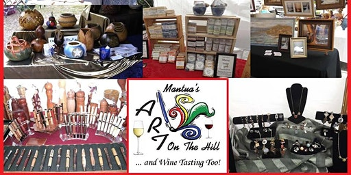Art On The Hill .... and Wine Tasting Too!