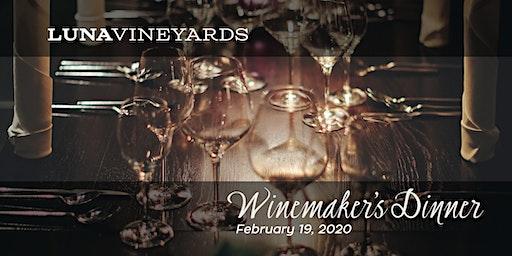 Luna Vineyards Winemaker's Dinner, February 19, 2020