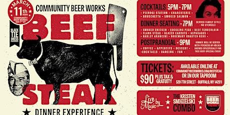 Beefsteak Dinner Experience tickets