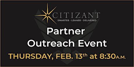 Citizant Partner Outreach Event tickets