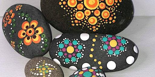 Mandala dotting for beginners
