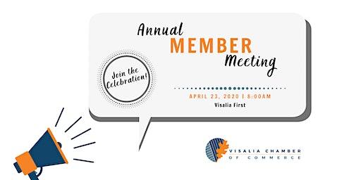 Visalia Chamber 2020 Annual Member Meeting