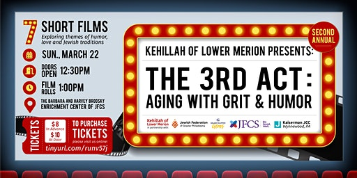 KLM presents The 3rd Act Short Film Festival:  Aging with Grit and Humor