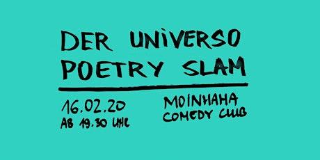Der Universo Poetry Slam Tickets