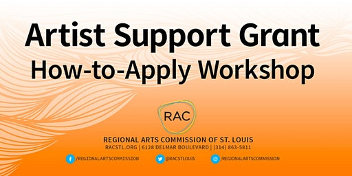 Artist Support Grant How-to-Apply Workshop at RAC: Spring 2020