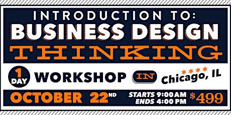 Intro to Business Design Thinking, 1-day, Oct 2020 tickets