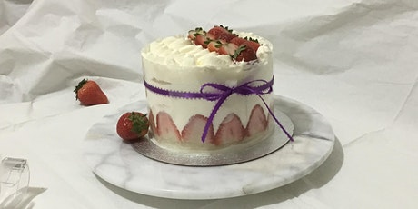 Japanese Strawberry ShortCake (Saturday, Feb 15th, 11am) tickets