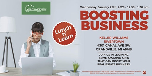 Boosting Business Lunch n' Learn
