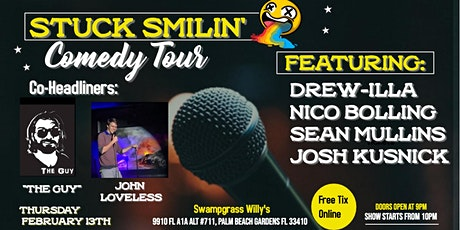 Comedy Night with Stuck Smilin' Tour at Swamp Grass Willy's tickets