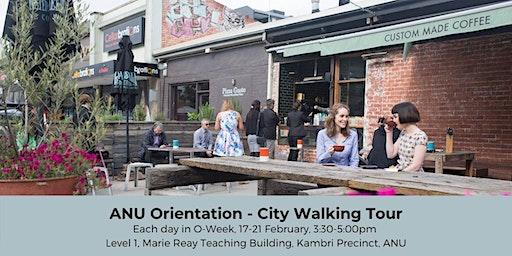 ANU Orientation - City Walking Tour