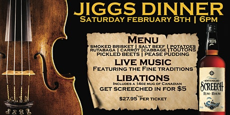 Toad 'n' Turtle Jiggs Dinner! tickets