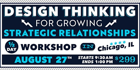 Design Thinking for Growing Business Relationships, 1/2-Day – Aug 2020 tickets