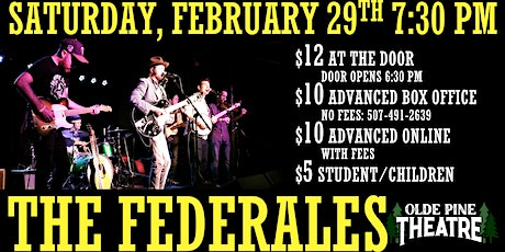 The Federales (All Ages Live Concert) tickets