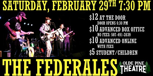 The Federales (All Ages Live Concert)