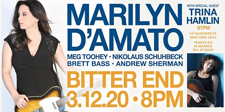 MARILYN D'AMATO at BITTER END 3/12 tickets