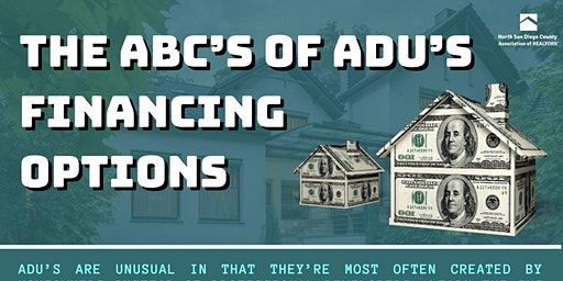 The ABC's of ADU's Financing Options