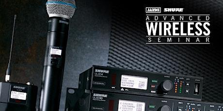 Shure Advanced Wireless Seminar (Brisbane) tickets