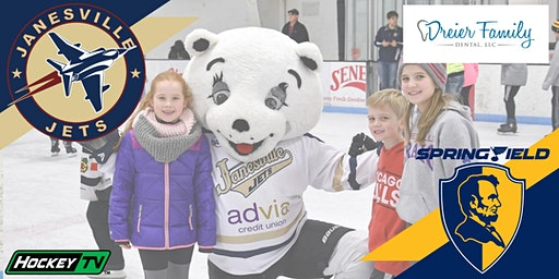 Chilly's Birthday & FREE KIDS NIGHT! Fri Feb 28th Jets vs. Jr. Blues (G21)