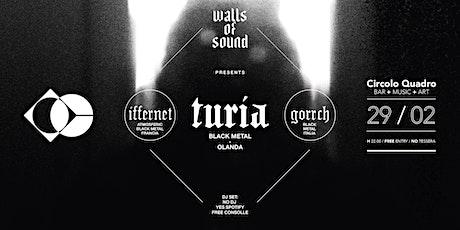 Walls Of Sound | Live Turia - Iffernet - Gorrch biglietti