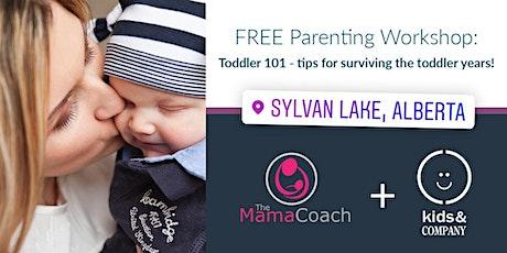 Toddler 101: Kids & Company Sylvan Lake Mama Coach workshop tickets