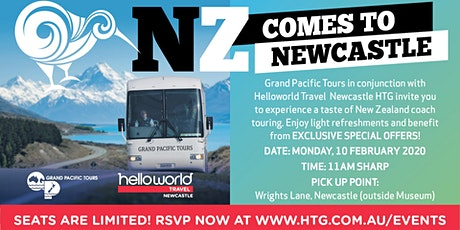 NZ Comes to Newcastle with Grand Pacific Tours at our FREE Travel Events! tickets