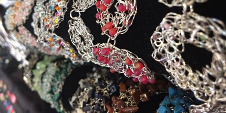Crochet Wire Jewellery Workshop tickets