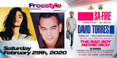 Freestyle Flashback Concert Series with Sa-Fire & David of Nice & Wild tickets