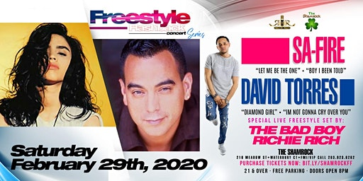 Freestyle Flashback Concert Series with Sa-Fire & David of Nice & Wild
