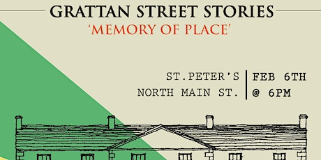 Grattan Street Stories 'Memory of Place' tickets