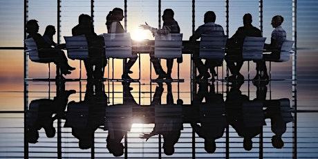 Mesa redonda de dueños de negocio entradas
