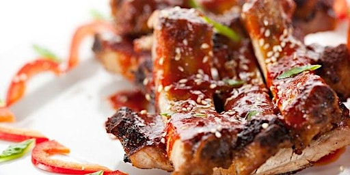 Asian BBQ with Plum Wine