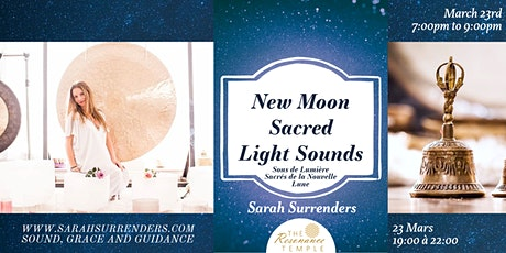 New Moon Sacred Light Sounds tickets
