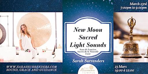 New Moon Sacred Light Sounds