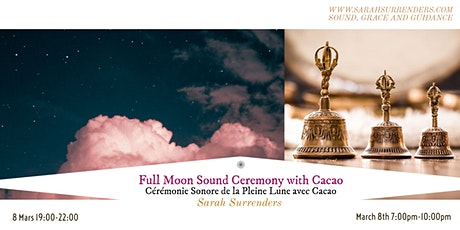 Full Moon Sound Ceremony with Cacao tickets