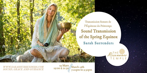 Sound Transmission of the Spring Equinox