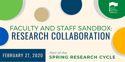 LTD Faculty and Staff Sandbox: Research Collaboration