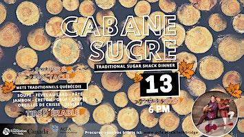 Cabane à sucre 2020 (souper - spectacle)