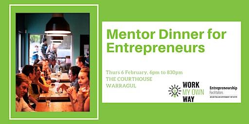 Mentor Dinner for Entrepreneurs