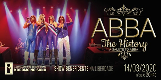 Show Beneficente ABBA | The History - A salute to ABBA